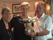 Jen & Terry:	Mixed Pairs Winners 2017 (Terry also won Mens Triples with Mick & Eddie)