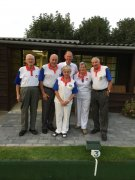 Bill Wickes Finalists: A. Anderson, B. Anderson & S. Gammond (winners)/ J. Green, K. Johnson & B. Larner