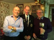 Howard & Ray (winners of Golden Oldies) with Alan