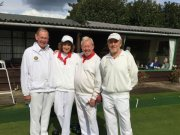 Golden Oldies Finalists: A. Anderson & B. Puryer (winners)/ H. Butler & R. Newman
