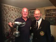 Daron (winner of Lilley Cup & Mixed Pairs with Jean) with Alan